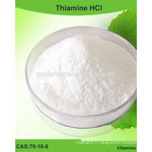 Poudre de thiamine HCl (VB1 HCl), vitamine B1 / 70-16-6 / USP / BP / EP