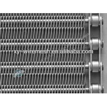 high strength weave stainless steel wire mesh conveyor belt (hengqu factory)