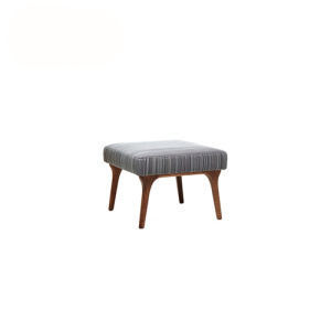 Fabric Upholstered Footstool Zio Ottoman