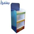 Carton stable durable de support d'affichage de 4 rangées pour une variété de produits.