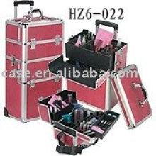 aluminum trolley cosmetic case