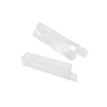 Caja de embalaje transparente de regalo plegable de acetato personalizado de plástico