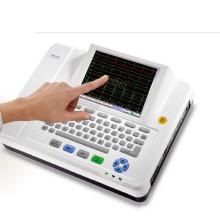 12 zwölf führt Kanal EKG Maschine EKG EKG Holter Touchscreen Ce