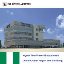 Nigeria Twin Waters Entertainment Center Küchenprojekt von Shinelong
