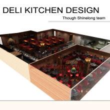 Shinelong Customized Projekt Deli Küche Design