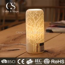 Украшения дома популярные ваза форма шаблон дерево настольная лампа