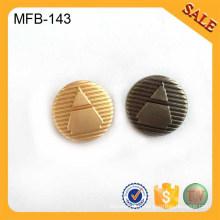 MFB143 2016 bouton de jarre en alliage élégant personnalisé pour chemise, porte-vêtement de luxe
