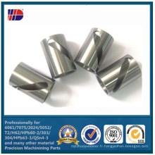 Pièces usinées par précision de services de fabrication faite sur commande pour l'acier inoxydable SUS304