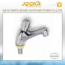 Chrome cheap self closing time delay wash basin push button faucet tap