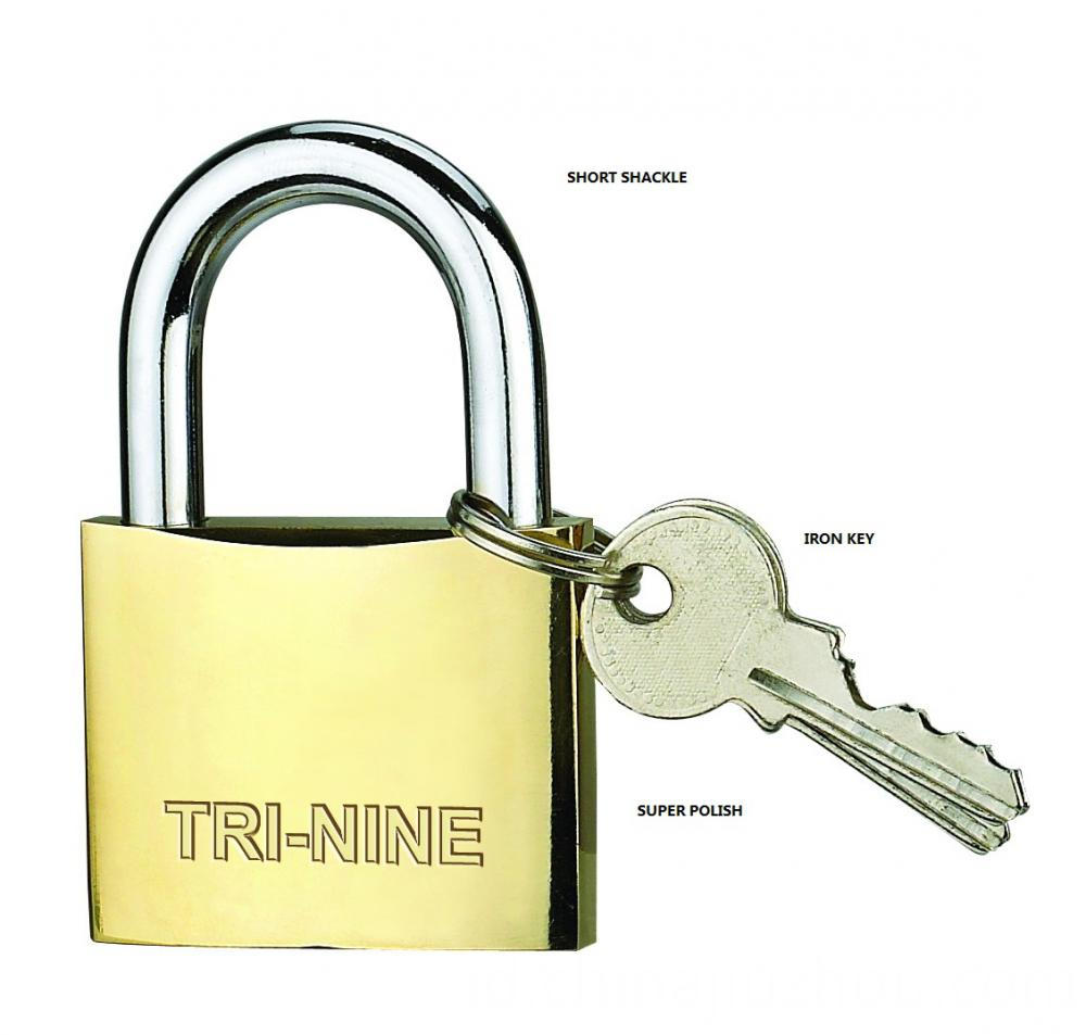 M-thick Type Brass Padlock With Long shackle
