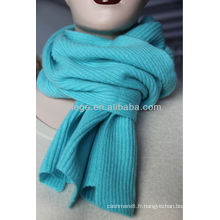 Écharpe tricotée 100% cachemire