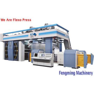 Machine d'impression flexographique par satellite