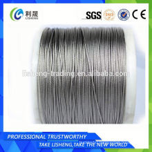 1x7 1x12 1x19 1x37 Steel Strand Wire Rope