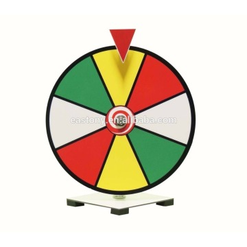EASTONY 12 Zoll Dry Erase Spinning Prize Wheel
