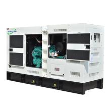 60Hz 200kva 140kw  Open Type Silent Type Diesel Electric Generator Powered Coupling With Doosan Engine P08TI-1For Sales