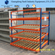 Heavy Duty Steel Galvanized Roller Storage Gravity Rack
