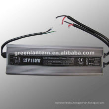 Waterproof IP67 Aluminum LED Driver 150W 12V switching power