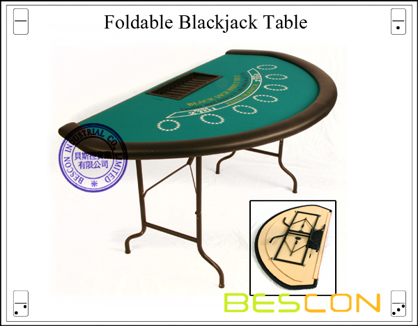 Foldable Blackjack Table