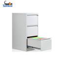 Armário de arquivo ereto livre de suspensão colorido de 3 gavetas