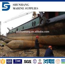Airbag de borracha pneumática da venda quente para o lançamento e a aterrissagem do navio