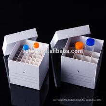 Boîte de congélation pour boîte à tubes à centrifuger 50ml