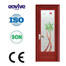 Excellent door factory best selling aluminum toilet door
