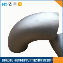 Cotovelo de aço inoxidável ASTM A403 ASME B16.9 316L