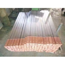 Titanplattierter Kupferstab für die elektrolytische Gewinnung von Folien 6 mm