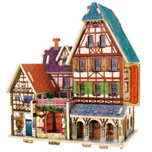 Brinquedo de brinquedos de madeira para o Hotel Global Houses-France