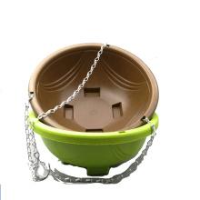 Home garden supplies Bamboo fiber flower pot with hanger wholesales