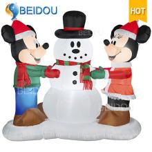 Inflables Adornos de Navidad Decoraciones Publicidad Inflables Navidad Personaje de dibujos animados