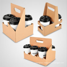 Disposable Coffee Cup Tray and Multi-Specification Kraft Paper Cup Holder