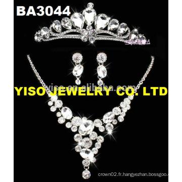 Ensemble bijoux en diamant