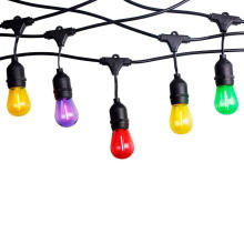 China Manufacture Christmas Color Decorative Lamp Glass Bulb