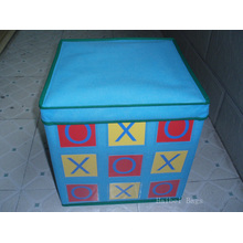 Складная коробка для хранения игрушек, Складная коробка, Ящик для игрушек со складками (HBBO-1)