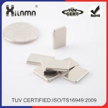 40X15X2mm dünne permanente NdFeB Blockmagnet für Haushalt schmückt