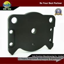 CNC-Fräser Aluminiumgehäuse Durchgangsloch mit schwarz eloxierten Oberfläche