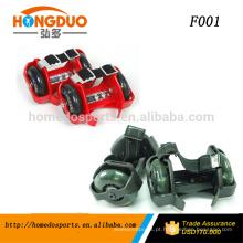 patins de rolar piscando / roda piscante shose / light-up roller skates