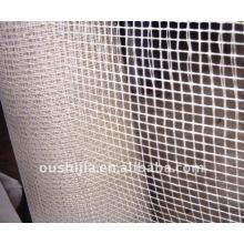 Multicolored glass fiber mesh