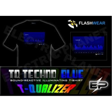 [Stunningly]Wholesale Fashion hot sale el T-shirt A99,el t-shirt,led t-shirt