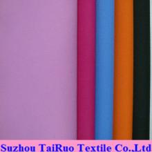 Taslon 100% da sarja do poliéster para a tela do vestuário