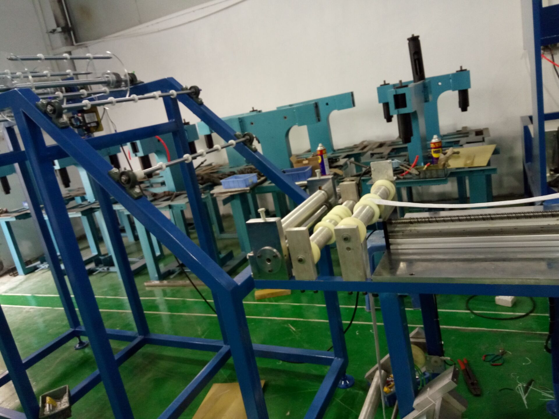 automatic logo embossing machine