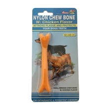 Chicken Scent Piccolo morbido cane da masticare in nylon Toy