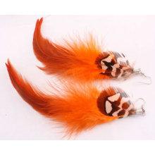 Bijoux Fashion Bijoux Boucles d'oreilles Long Feather FEA01