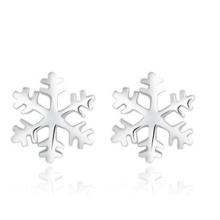 Bijoux de Noël / Boucle d'oreille de Noël / Neige de Noël (XER13372)