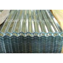 Feuille de toiture en acier ondulé en aluminium revêtu de couleur PPGL