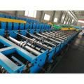 Máquina automática para fabricar perfiles de piso de acero y aluminio