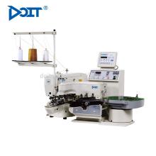 Botón de DT977MD-1903A para enviar la máquina / la máquina de coser de la atadura de la barra electrónica del disco directo de alta velocidad