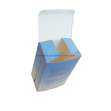 Custom Colored Packing Folding Paper Facial Mask Packaging Box