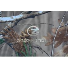 150d 2/2 Twill Poly Fabric с лесной камуфляжной печатью (ZCBP265)